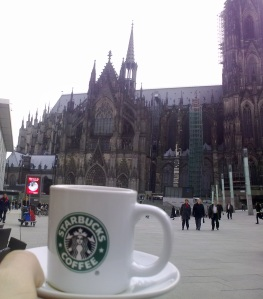 Starbucks coffee at Köln Dolm