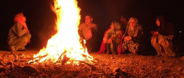 Storytelling as a means to pass information - cavemen speak