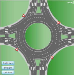 Roundabout - source: michigan.gov