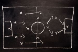 Tactics Board from sports apllied to the world of business